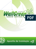 Apostila técnica de instalação de WallGreen