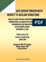 Cigre Safe Design Tensions