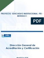 Modulo I PEI 2013