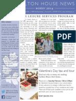 Carlton House Winter 2014 Newsletter