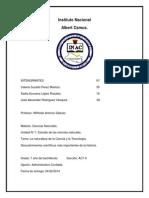 Tarea de Ciencias(Seccion AC 1-5)