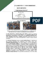 1º JornadaMenoresDonBenito