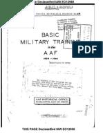AAF Basic Military Training History