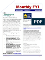 HWS Monthly FYI February 2014