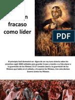 Saul Un Fracaso Como Lider