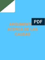 Argumentos Acerca de Las Causas