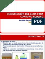 14a. Desinfeccion Agua Para Consumo Humano y Piscinas
