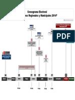 Cronograma Elecciones Regionales y Municipales 2014