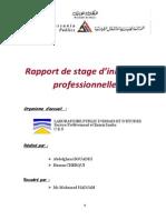 Rapport Abdelghani Bouaddi Hamza Cherqui