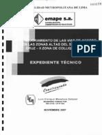 Expediente Mejoramiento Vias de Acceso Lima