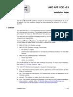 AMD APP SDK Installation Notes