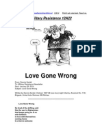Military Resistance 12A22 Love Gone Wrong[