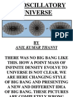 The Oscillatory Universe