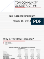 Tax Rate Prop