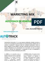 Marketing Mix - Autotrack de Venezuela
