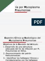 Neumonia por Mycoplasma Pneumoniae