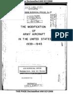 AAF Aircraft Modification History (1942-45)