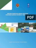 Buku Metode Pemetaan Risiko Bencana DIY