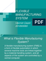 Flexible Manufacturing System (FMS)