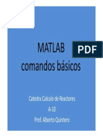 Matrices Con Matlab