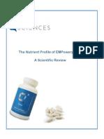 q96 nutritional profile