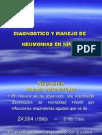 DIAGNOSTICO Y MANEJO DE NEUMONIAS EN NIÑOS