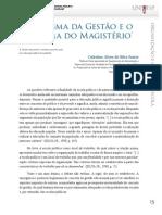 u1_d27_v2_t01 O dogma da gestão e o estigma do magistério - volume 2 - D27 - Unesp-UNIVESP - 1a edição 2013 graduação em Pedagogia