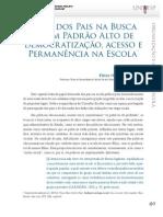 u1_d27_v2_t03 Papel dos pais na busca de um alto padrão de democratização, acesso e permanência na escola - volume 2 - D27 - Unesp-UNIVESP - 1a edição 2013 graduação em Pedagogia