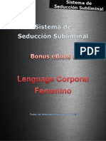 Sistema de Seducción Subliminal BI 2013