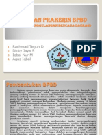 Laporan Prakerin BPBD (Badan Penanggulangan Bencana Daerah