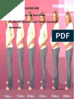 Student Guideline Maternal Nutrition 2011