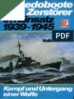 Torpedoboote Und Zerstoerer Im Einsatz 1939-1945