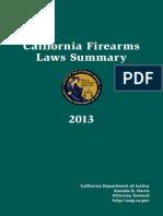 California Firearms Law Summary