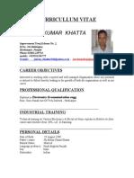Pawankumar khatta <,biodata>>