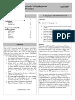AID Delhi newsletter April2007
