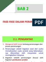 Bab 2 Fase-fase Perancangan