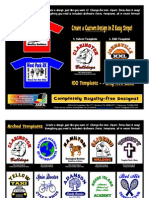 ASPA Art Templates for T-Shirt Printers