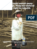 Working For Class Justice After The Tsunami (2006)