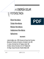 TEMA 4. ENERGÍA SOLAR fotovoltaica