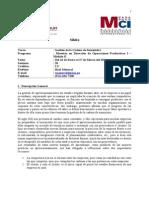 Sílabo MDOP Gestión de la Cadena de Suministro