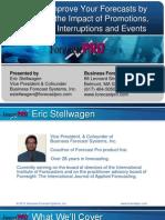 Forecast Pro Event Models