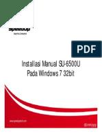 Installasi Manual Modem SU-6500 Pada Windows 7