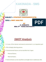 37 Stm SWOT Analysis