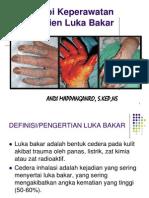 Copy of Terapi Keperawatan Klien Luka Bakar