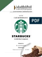 CASE METHODOLOGY - Starbuck