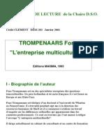 Trompenaars- l'entreprise multiculturelle-LES FICHES DE LECTURE de la Chaire D
