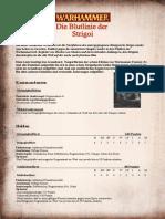 Strigoi Fan Armeebuch