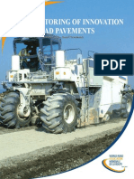 Monitoring of Innovation in Road Pavements 19673 2013R09-En