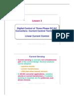 Digital Control Applications in Power Electronics Lez3