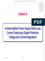 Digital Control Applications in Power Electronics Lesson2